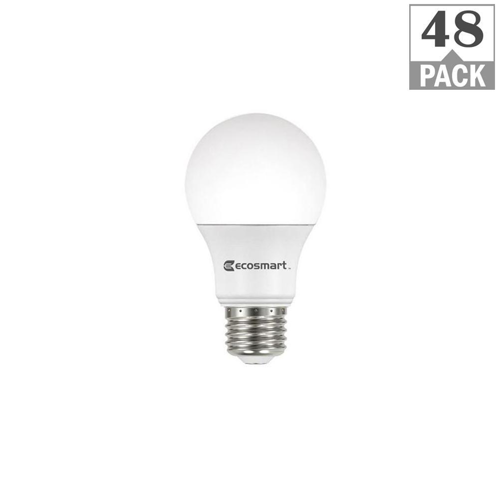 Ecosmart 100 Watt Equivalent A19 Non Dimmable Led Light Bulb