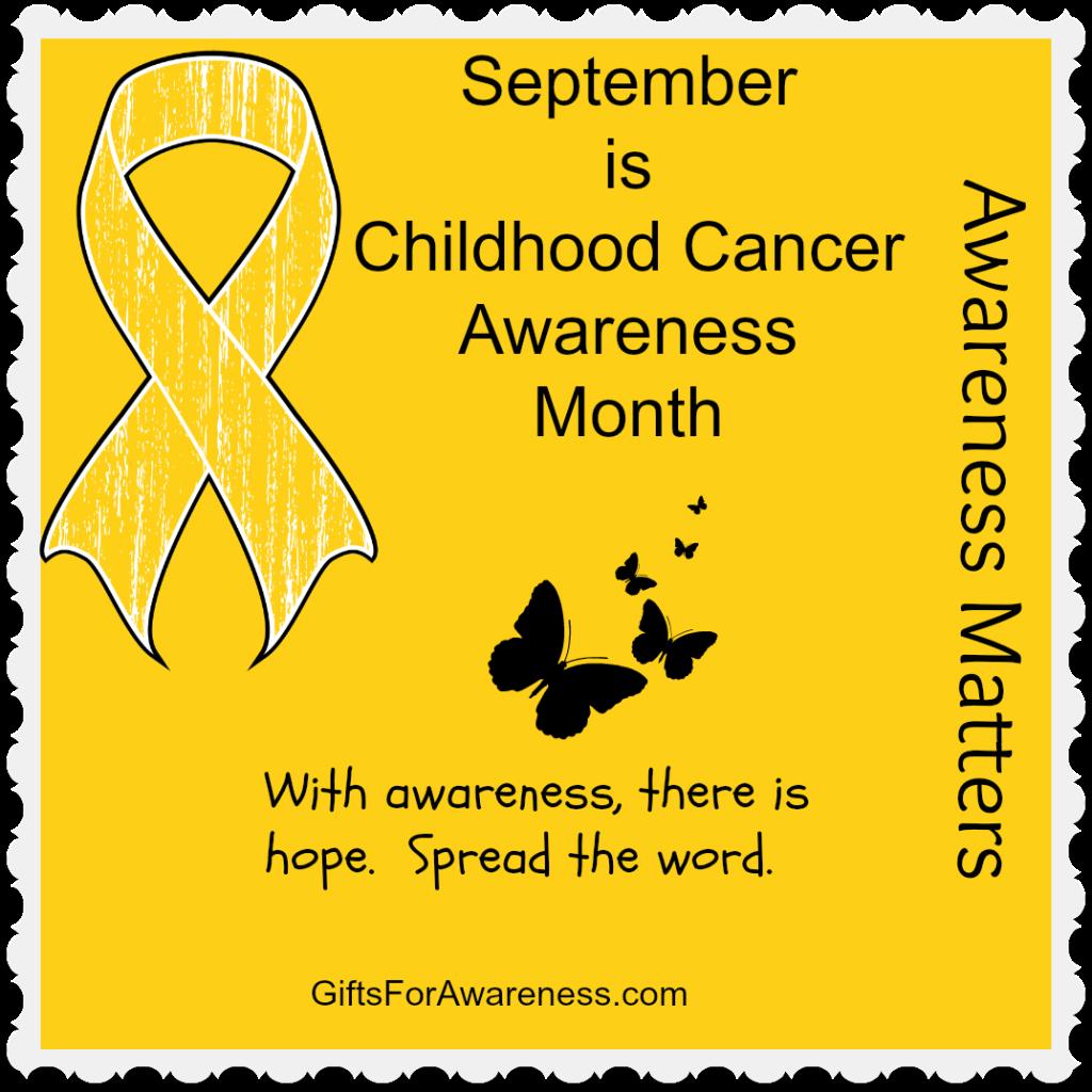 Go Gold September Commemorates Childhood Cancer Awareness Month Wear Or S Childhood Cancer Awareness Month Childhood Cancer Awareness Cancer Awareness Months