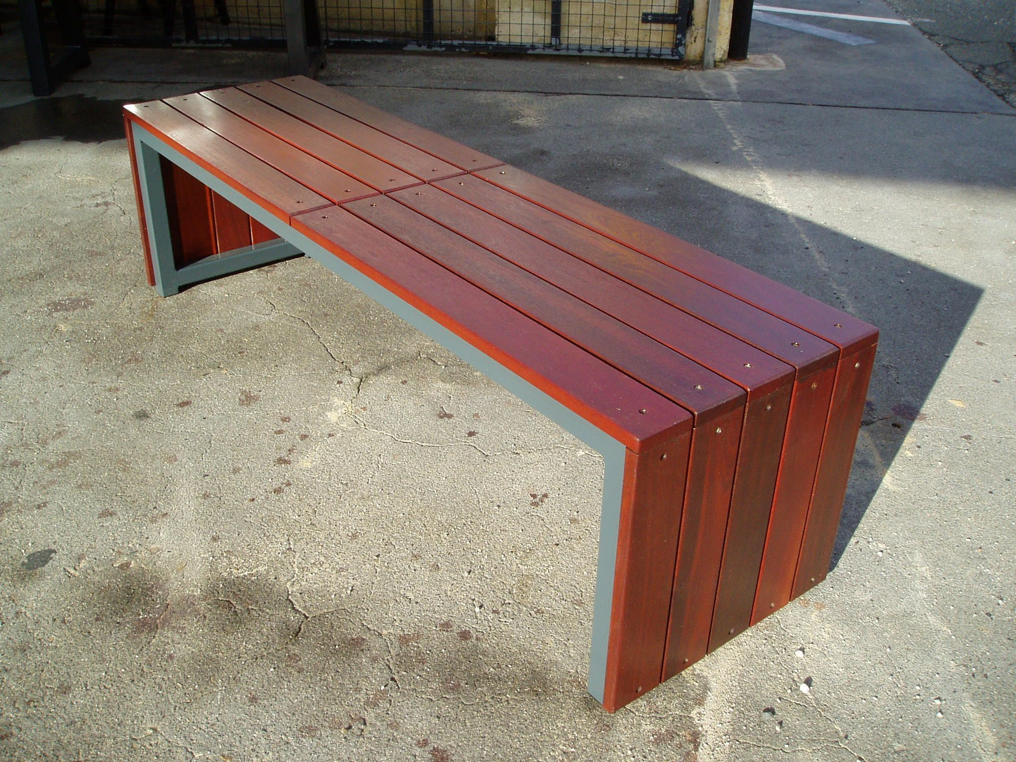 Garden Furniture Table Bench Seat outdoor bench seats - google search | decks benches and screens