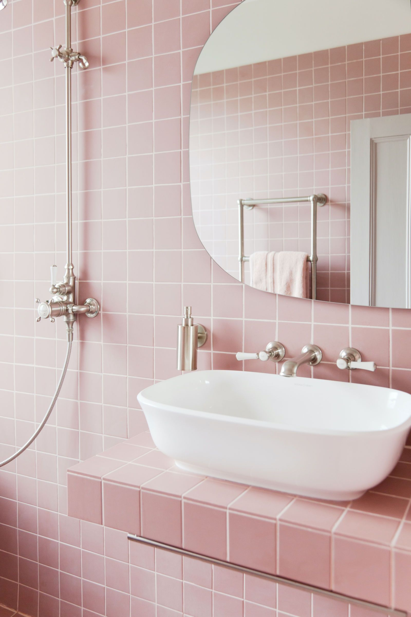 These Pictures Will Make You Want To Have An All Pink Bathroom