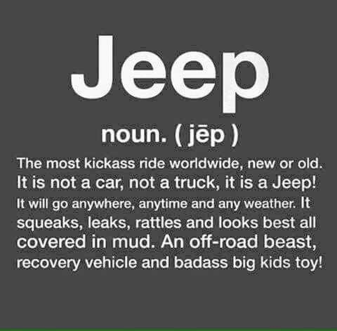 Pin By Tyler On Jeep Quotes Jeep Quotes Jeep Memes Jeep Wrangler Accessories