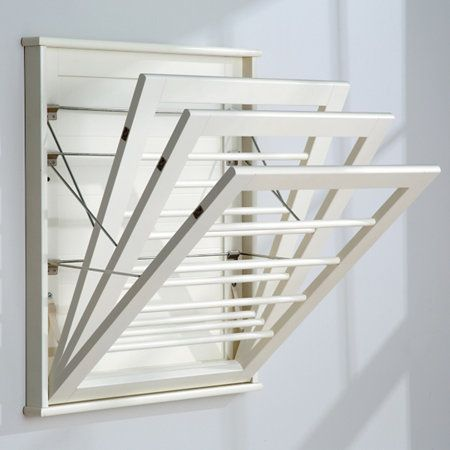 Add Drying Convenience In Small Spaces With The Wall Mount Drying