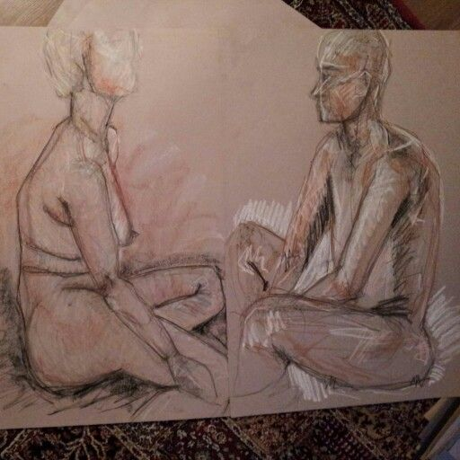 Life drawing xxx