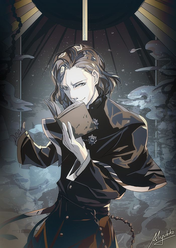 Tenkei Iwafune/Grey (by Miyukiko on DeviantArt) K