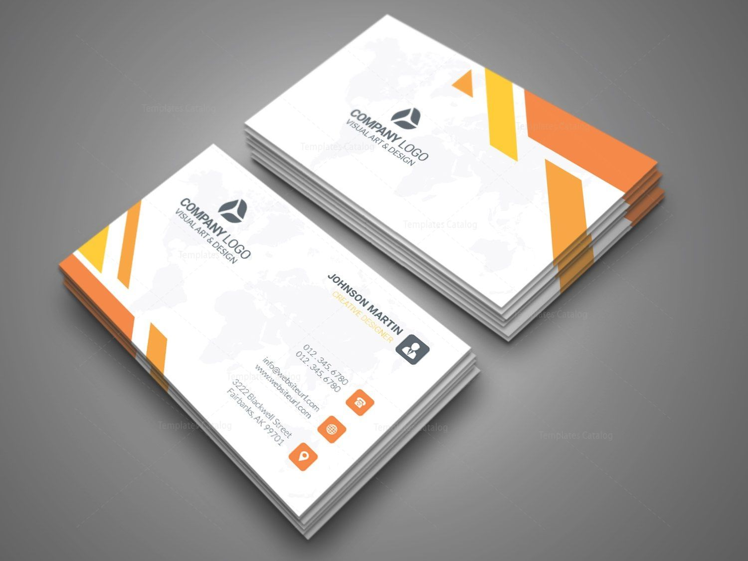 Company Business Card Design Graphic Templates Company Business Cards Business Card Design Business Cards Creative