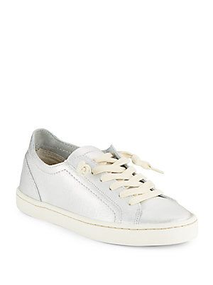 Dolce Vita Xed Leather Platform Sneakers -