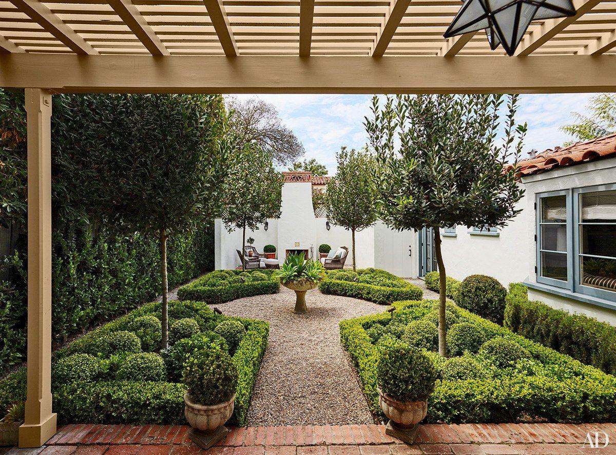 Designer Lance Lortscher of New View Landscape transformed the garden   archdigest.com