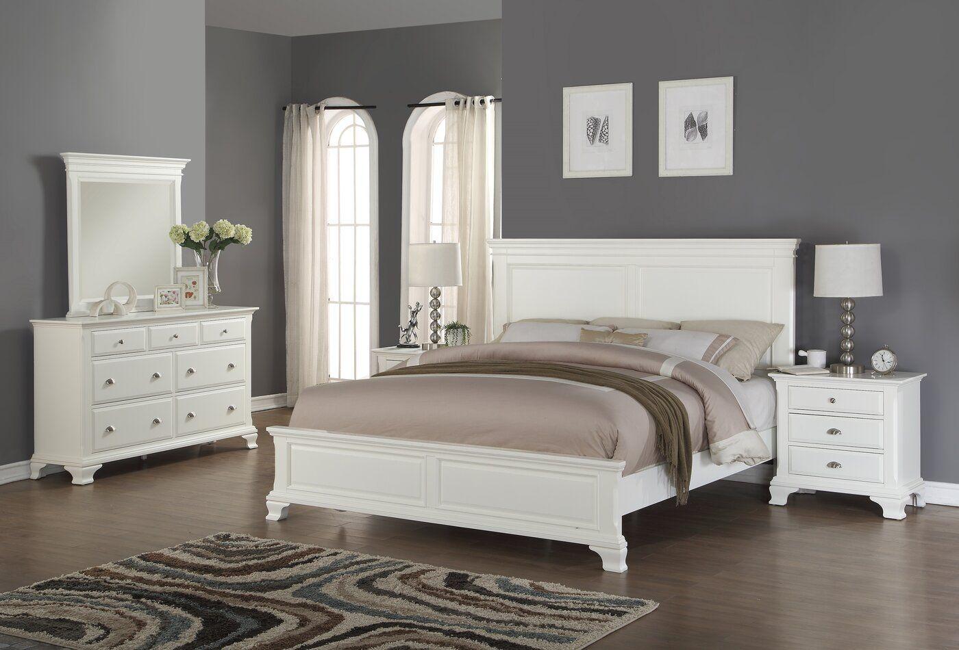 Shenk Standard 4 Piece Bedroom Set With Images Bedroom Sets