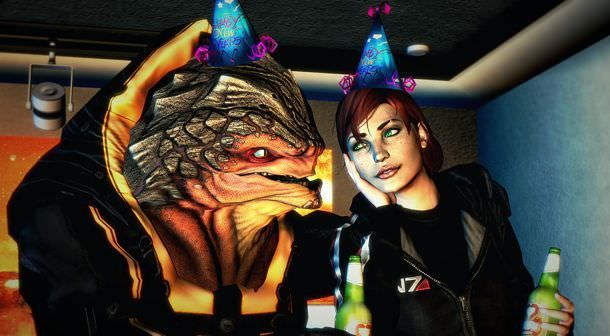 Mass Effect New Years Party