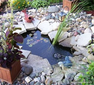 Keeping Pond Water Clear The Natural Way This Works As Long As You Keep Your Filters Clean Water Features In The Garden Pond Water Features Garden Projects