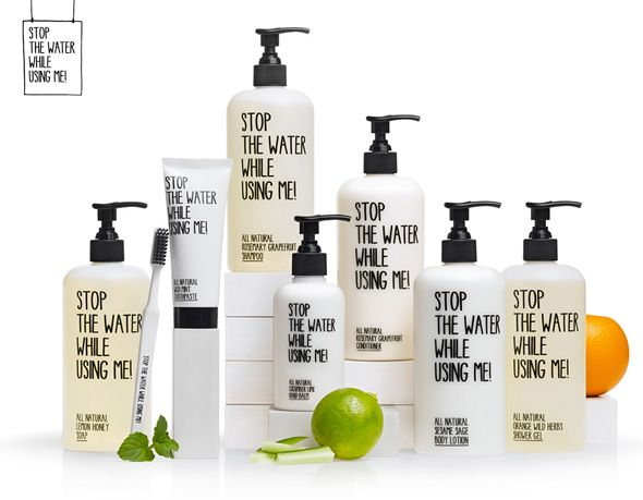 "Souvent Stop The Water While Using Me"" : Produits Cosmétiques Bio 