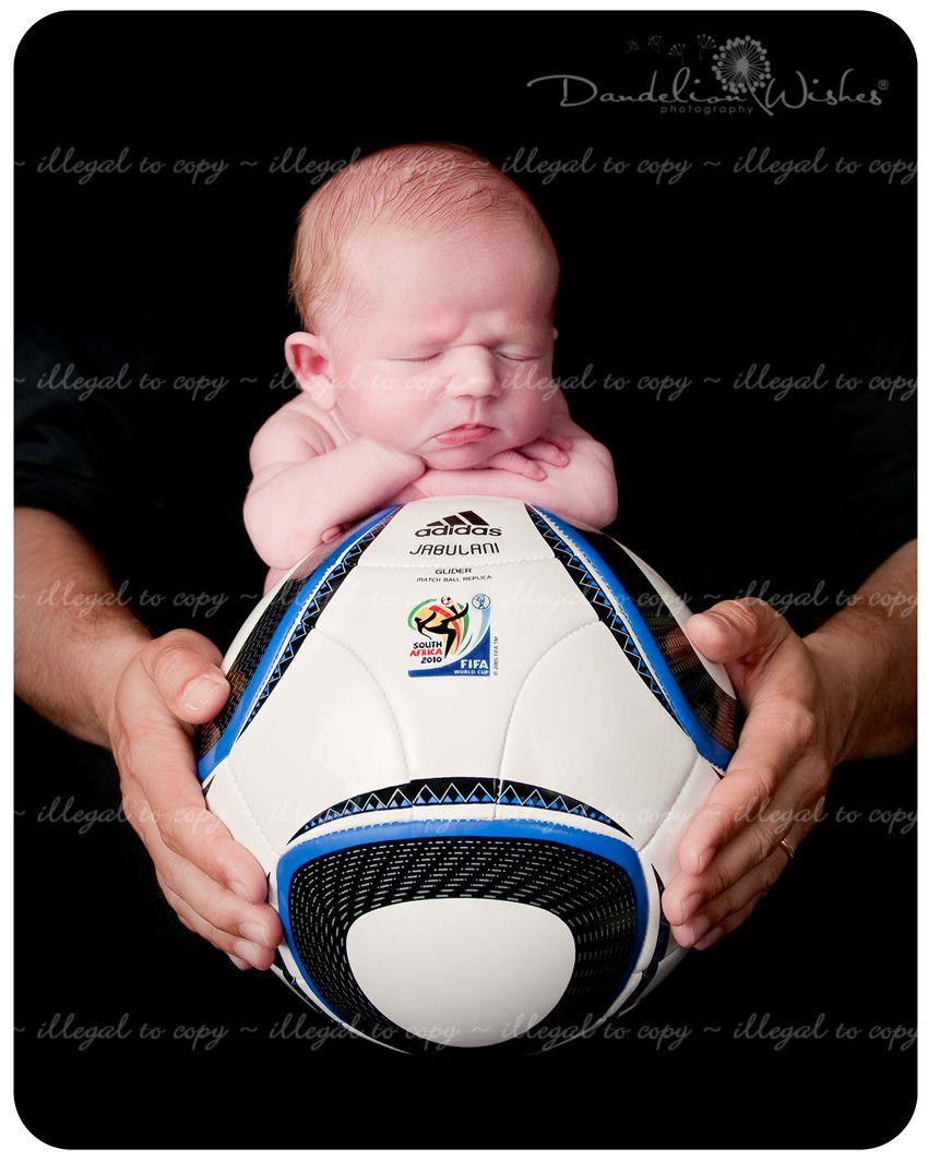 Donaldinho, the next Ronaldinho ~ Soccer Ball Baby Photographer in Northern VA ~ near Ashburn Virginia