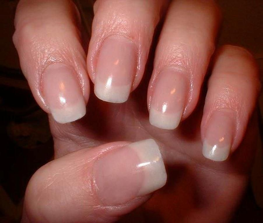 I like the natural look, But I want it longer! XD | Nails ...