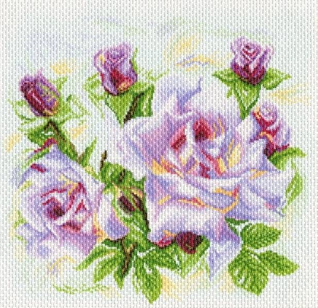 Канва с рисунком Матренин посад 1742 Розы | Розы, Рисунки ...
