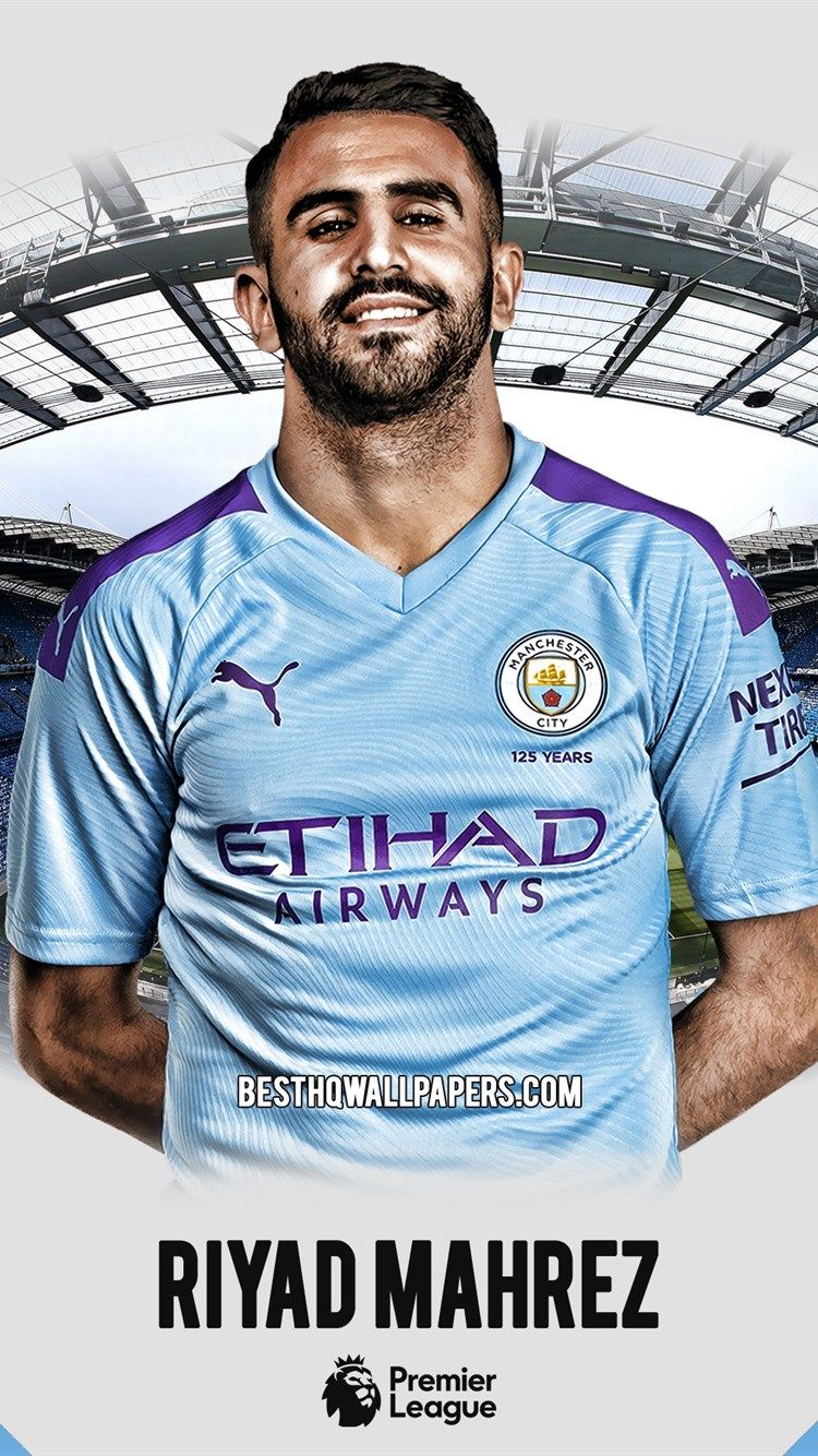 الرياض رياض محرز مانشستر سيتي صورة لاعب كرة القدم الجزائرية لاعب خط الوسط الدوري الممتاز إنجلترا مانشستر سيتي لاع Mens Tops Mens Tshirts Manchester City