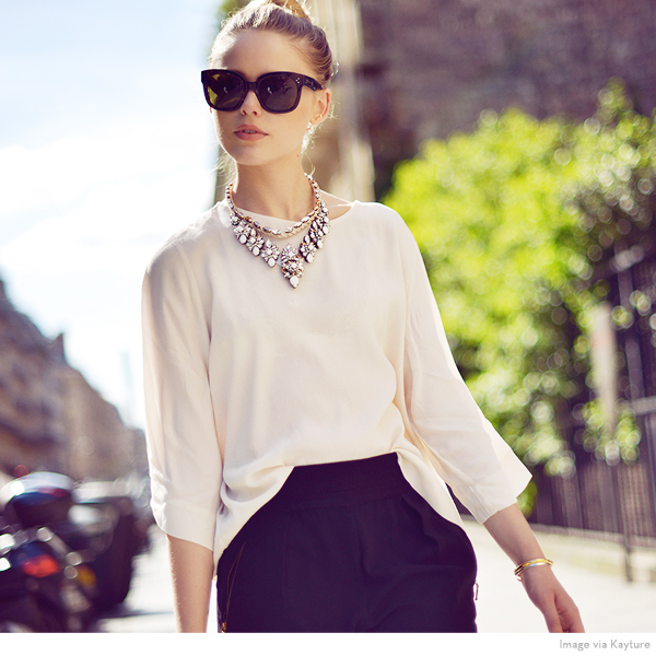 Ever fallen for a blouse that's just slightly too flowy…