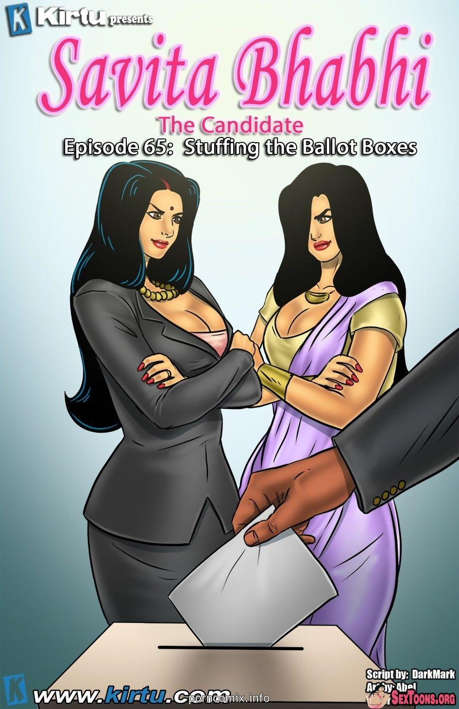 Savita Bhabhi  Episode 65  The Candidate  Stuffing The -9927
