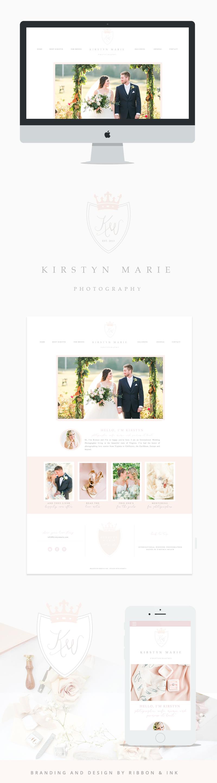 Branding for photographers / Web design / website / photographer ...