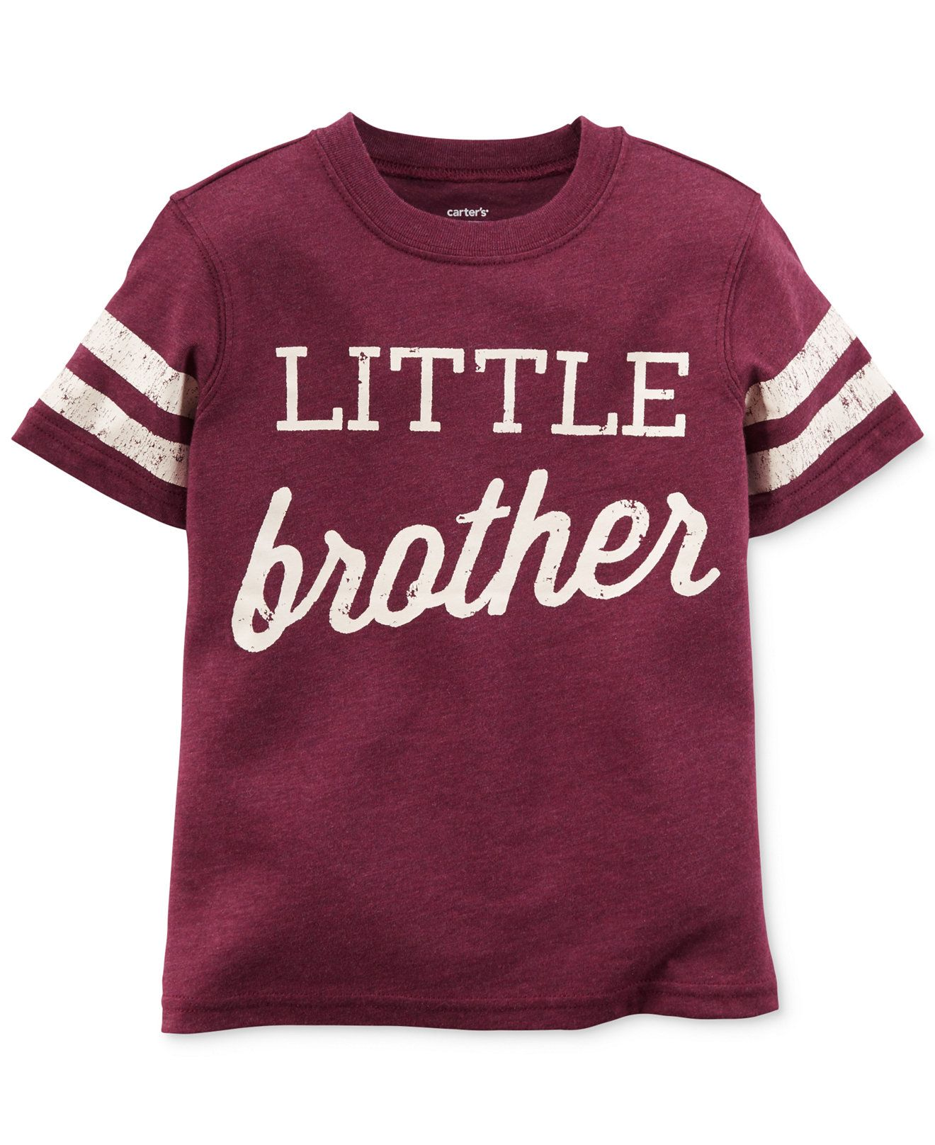 Carter's Little Boys' Little Brother Tee - Kids - Macy's