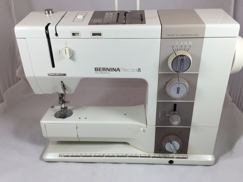 Bernina Record 40 Electronic Sewing Machine Case Accessories Manual Delectable Bernina Used Sewing Machines For Sale