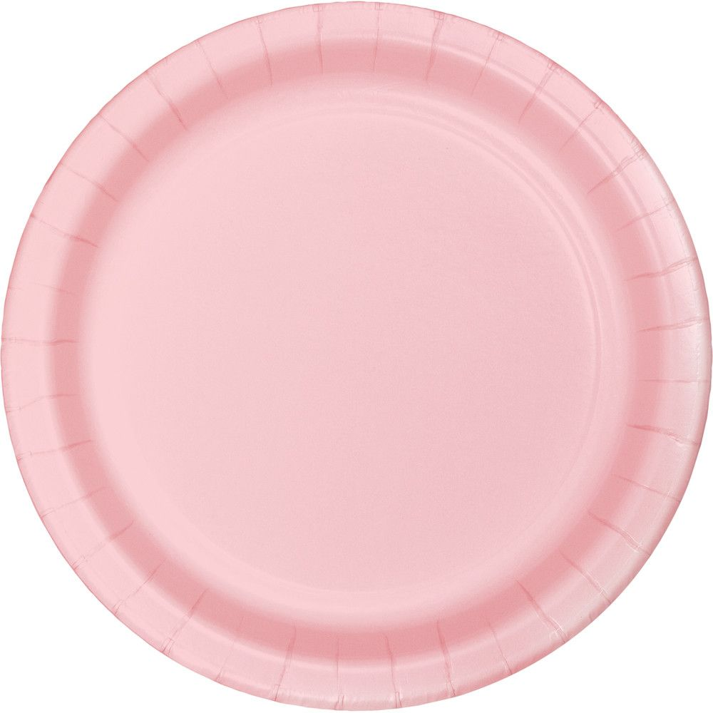 7 Classic Pink Paper Party Luncheon Plates Pack Of 192 Pink Dinner Plates Pink Plates Pink Desserts