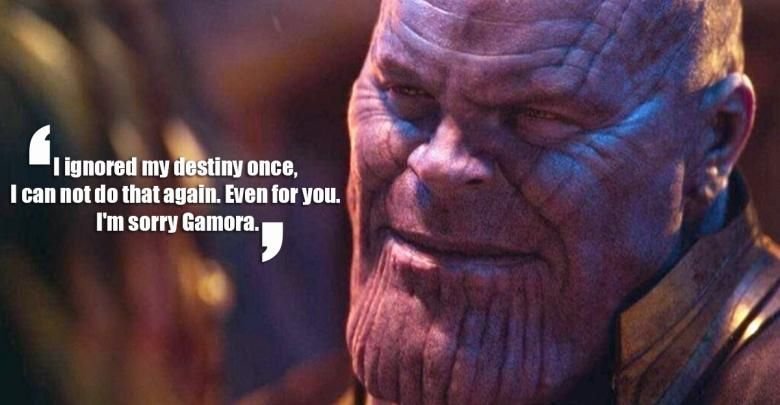 Thanos Quotes Tees-The Hardest Choices | Quotes|Quotes ...