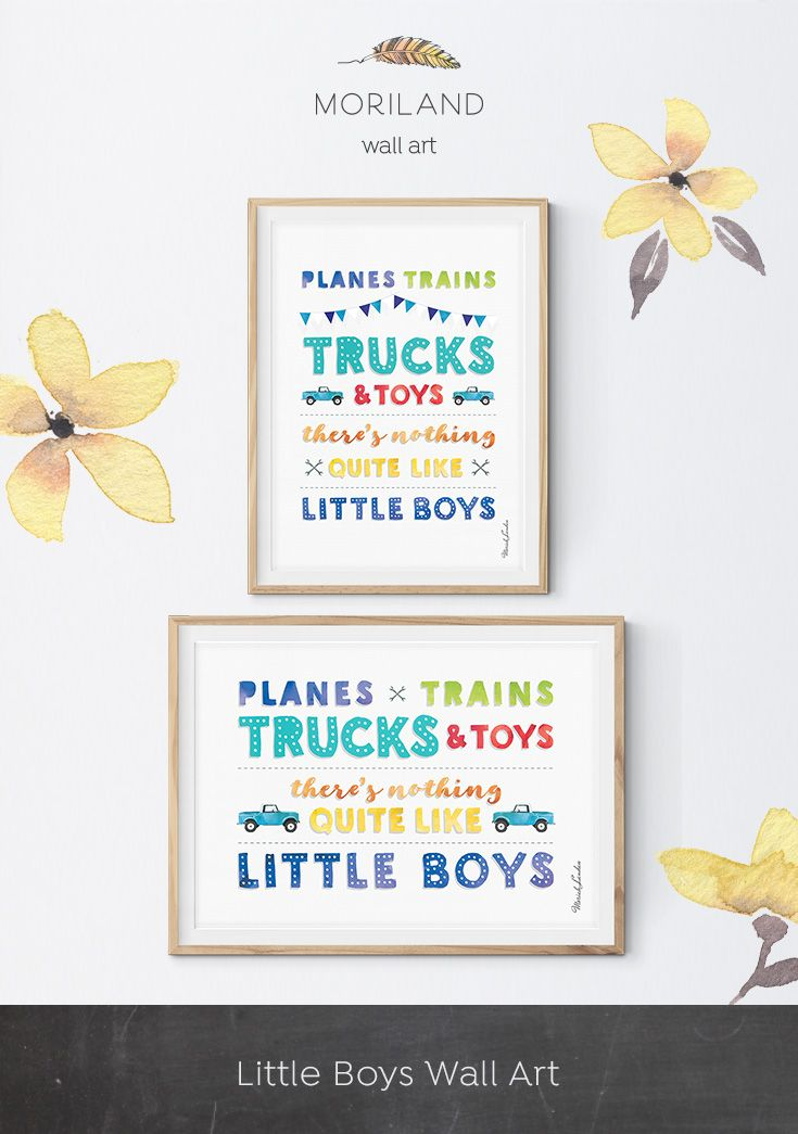 Planes Trains Trucks and Toys Print, Vertical, Transportation Decor, Vehicle Art, Boy Nursery Plane Wall Art, Boy Bedroom Art, Printable #quotesaboutlittleboys
