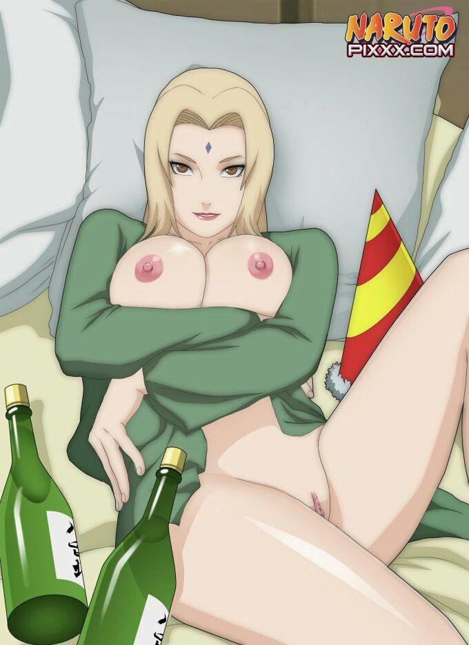 tsunade nude with highheels