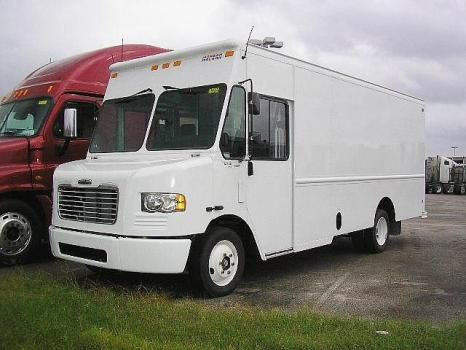 cheap new freightliner mt45 light duty step van for sale in texas construction vehicals. Black Bedroom Furniture Sets. Home Design Ideas