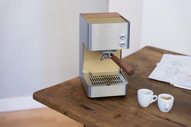 Designer Kaffeemaschine zuriga express ist eine neue schweizer kaffeemaschine für zuhause