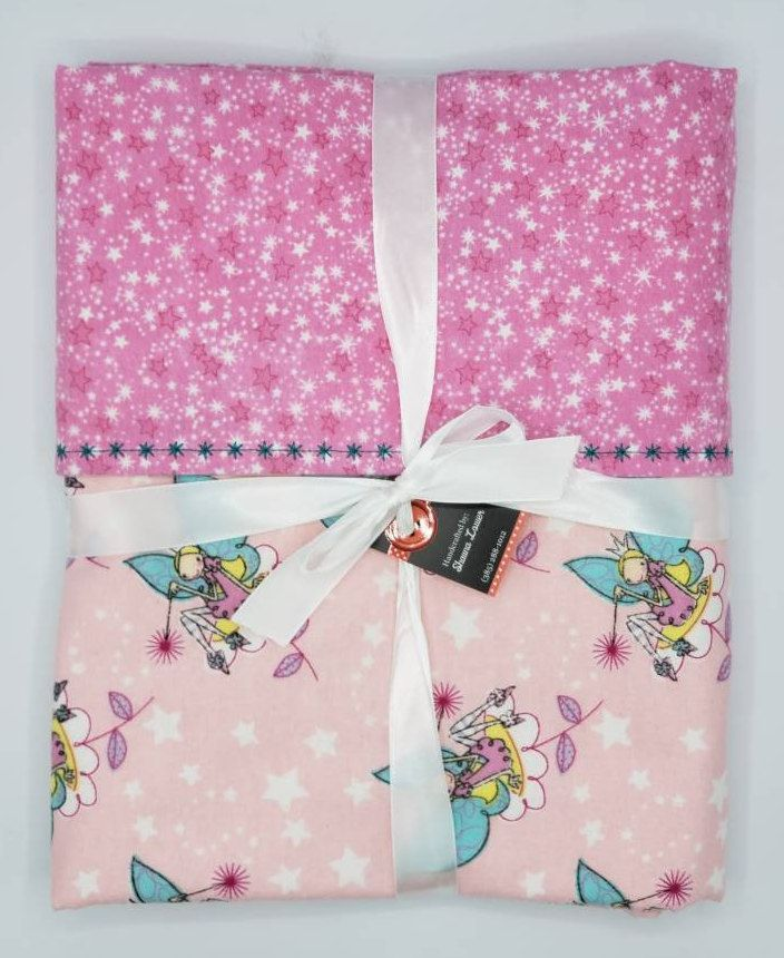 Magical Fairy Princess Flannel Blanket Etsy Bedding