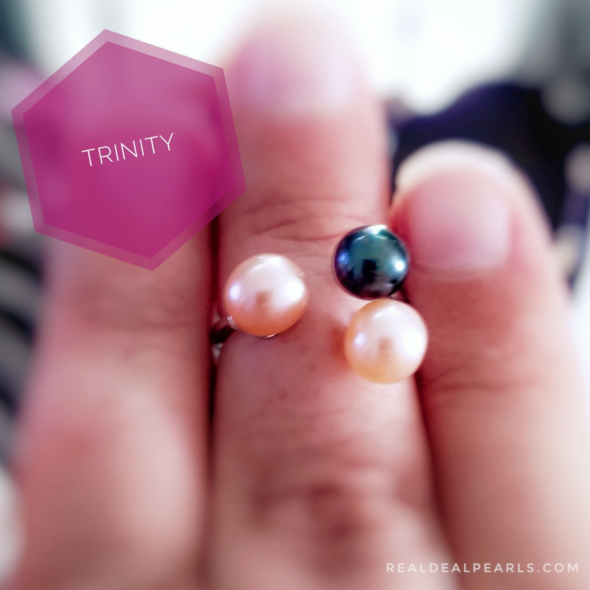 Trinity Ring | 3 Oyster Openings | Products | Pinterest | Trinity ...