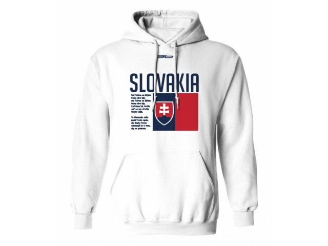 2fcb5345d Mikina s kapucňou SLOVENSKO 7 | SK Mikiny | Hooded jacket, Jackets ...