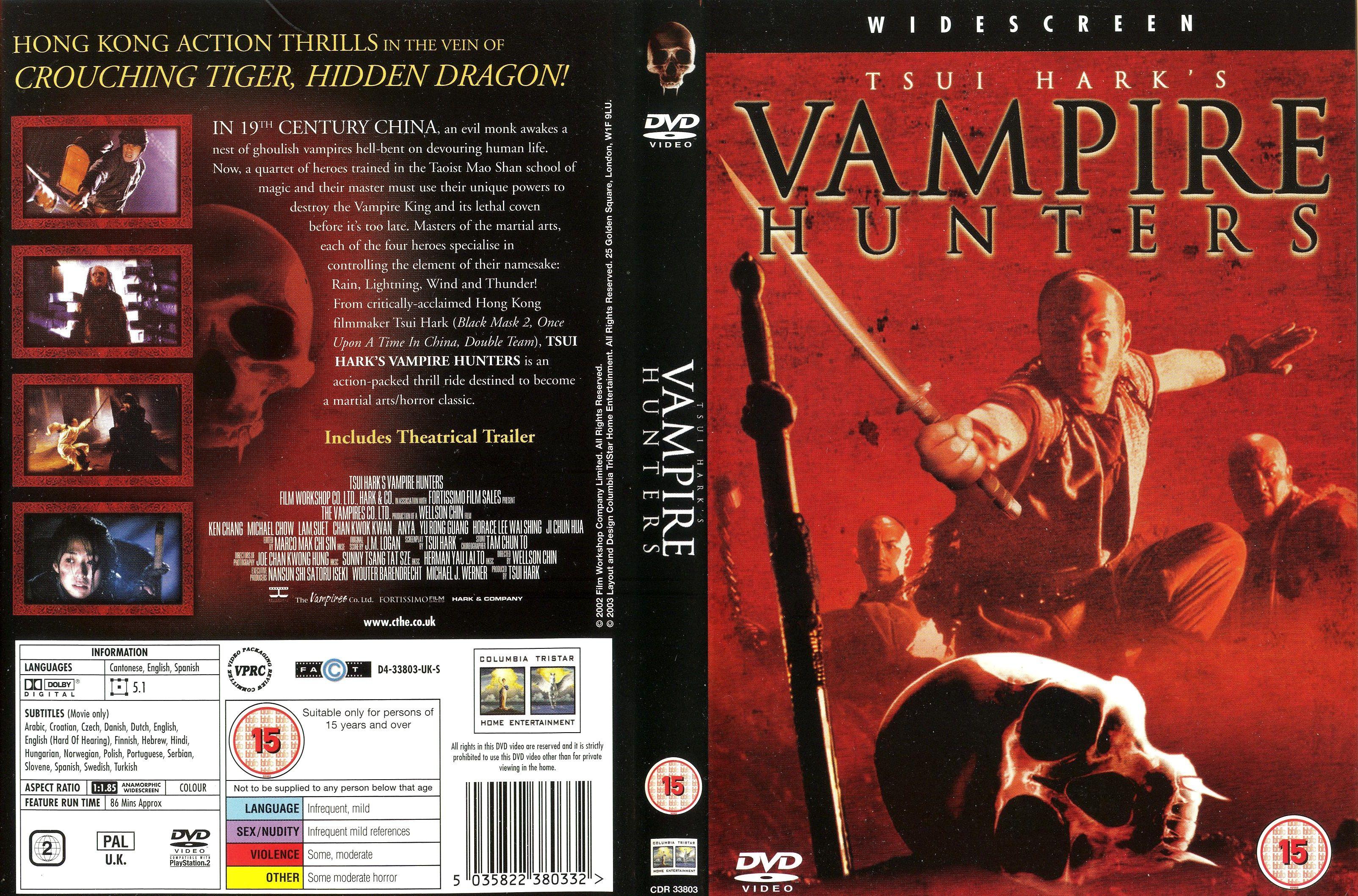 Tsui Hark's Vampire Hunters (2002) Hong Kong/Japan/Netherlands aka Era of the Vampires