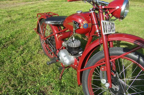 husqvarna motorrad 98 cc and 125 cc motorcycles pinterest. Black Bedroom Furniture Sets. Home Design Ideas