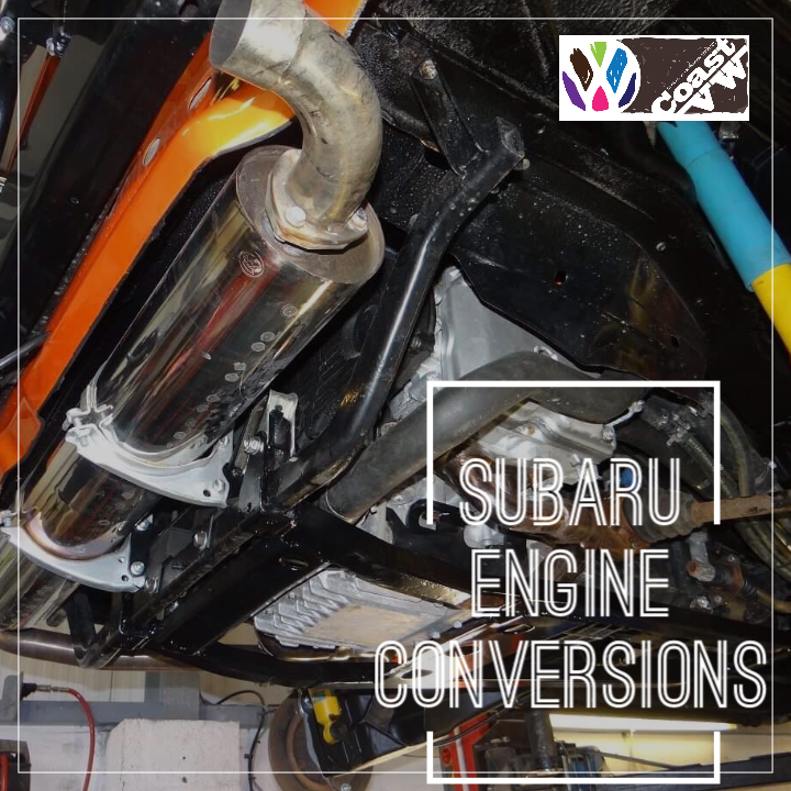 Coast VW Subaru engine conversions for VW T3 2WD and Syncro  Our