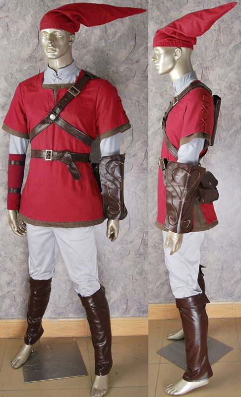 Legend of zelda costume twilight princess Link hylian costume outfit