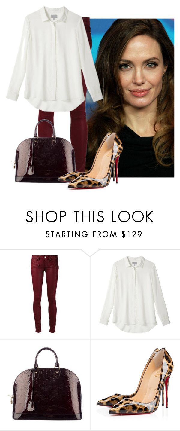 """""""Untitled #844"""" by anpattstew ❤ liked on Polyvore featuring Paige Denim, Louis Vuitton, Christian Louboutin, women's clothing, women's fashion, women, female, woman, misses and juniors"""