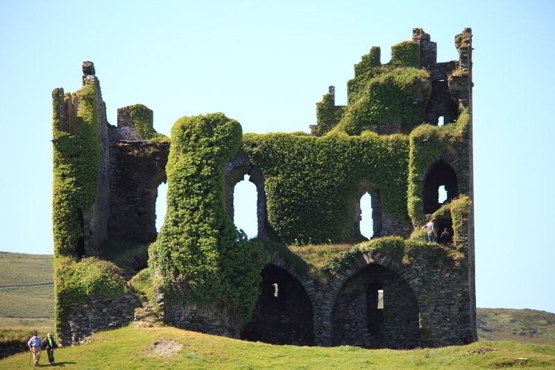 Ballycarbery Castle, Cahersiveen, Co Kerry, Ireland