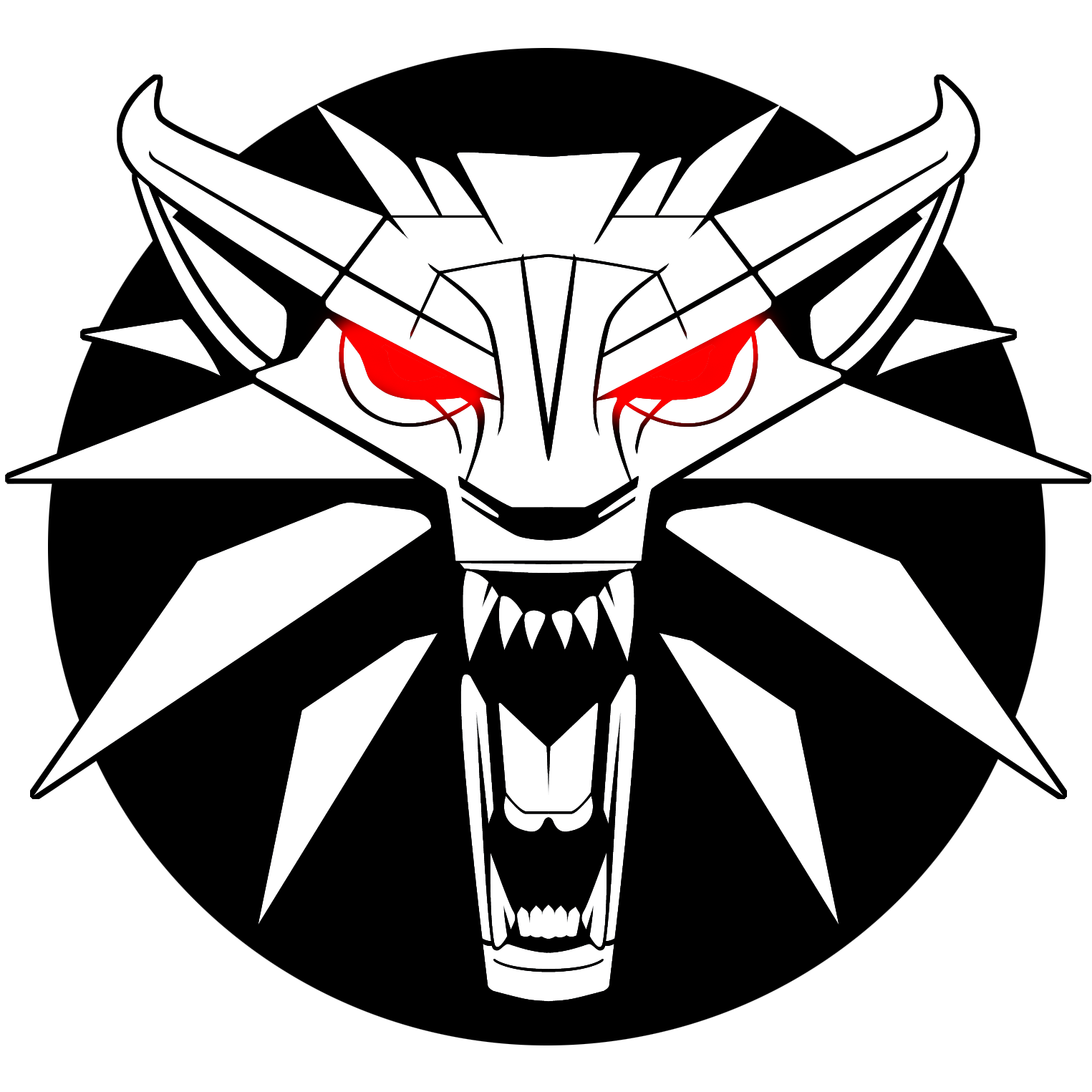 The Witcher Logo Png Image The Witcher Witcher Medallion Art Logo