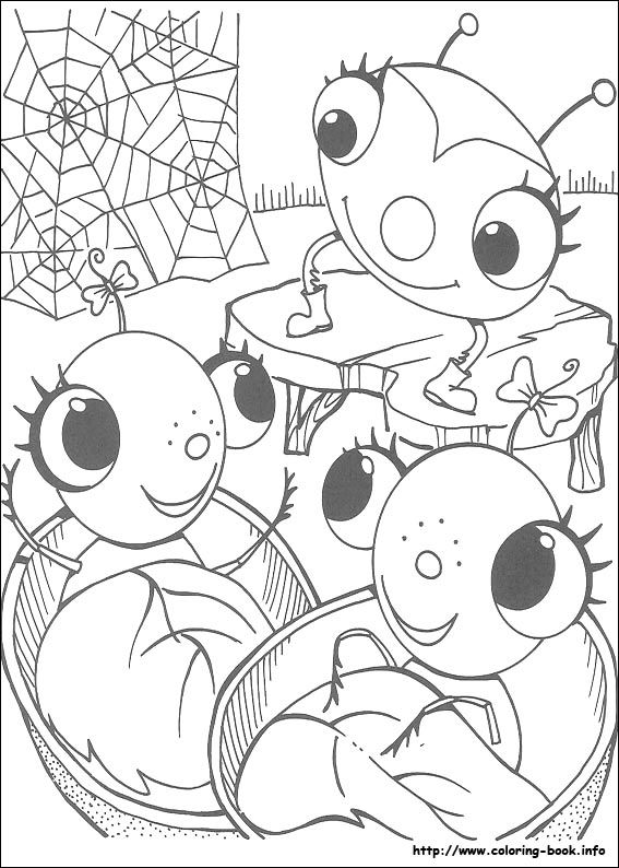 Miss spiders coloring pages ~ Miss Spider coloring picture | Coloring Pages | Pinterest ...