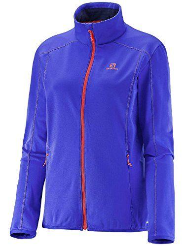 Salomon Womens Discovery FZ Midlayer Jacket