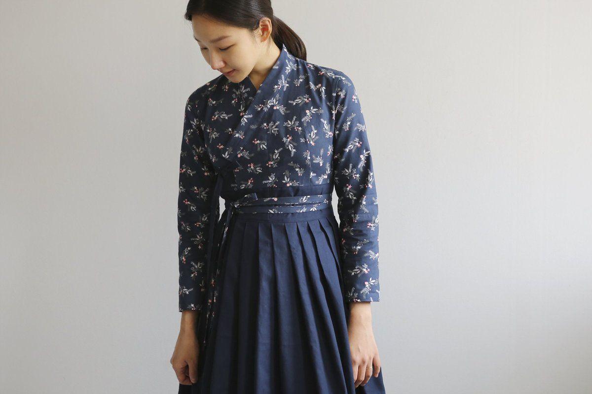 Dailylike DIY Sewing Pattern (Korean)- Daily Hanbok Dress for