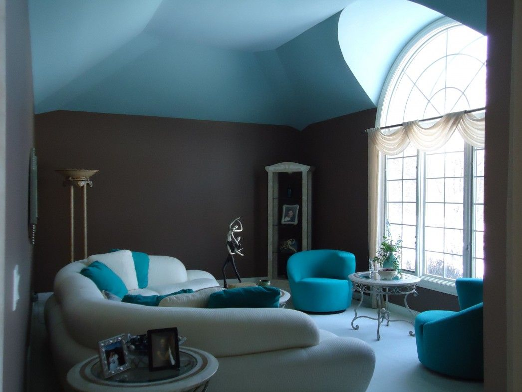 Beautiful Grey And Turquoise Room Color Indoor Inspiration Diy ...