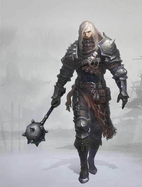 DnD male paladins & clerics - inspirational in 2020 | Fantasy warrior, Dnd paladin, Fantasy ...