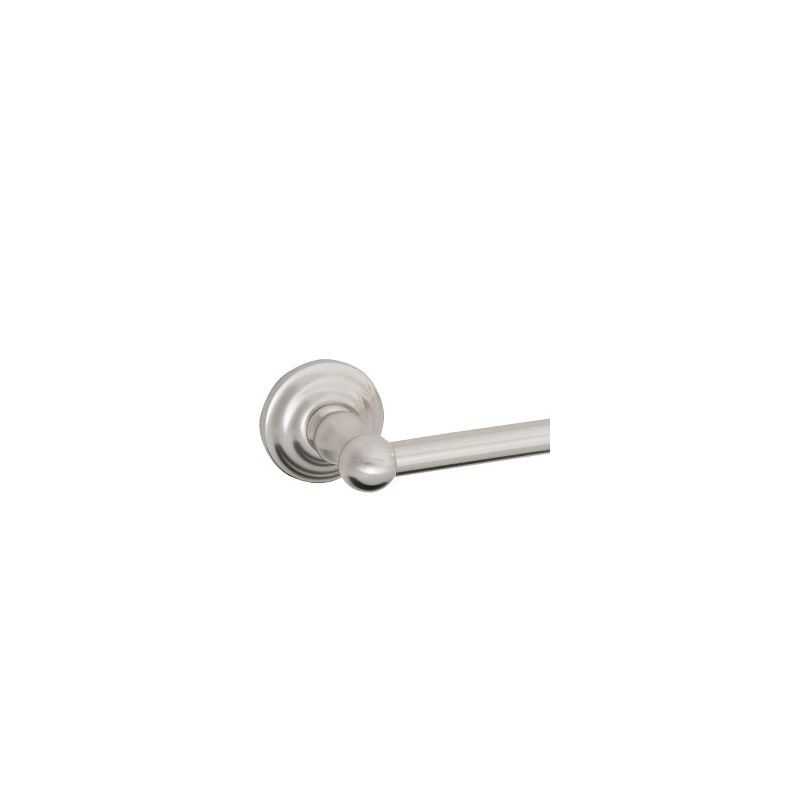 "Design House 538322 18"" Satin Nickel Towel Bar from the Calisto Series Satin Nickel Accessory Towel Bar 18 Inch"