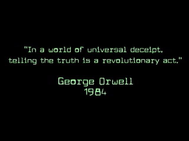 1984 Watch The Movie Read The Book 12160 Reality Orwell