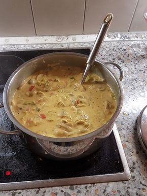 Photo of Chicken and Curry Leek Soup by Critters99 | Chef
