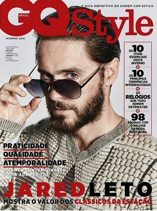 """mars-avenue: """"Jared on the Cover of GQStyle Brasil """""""