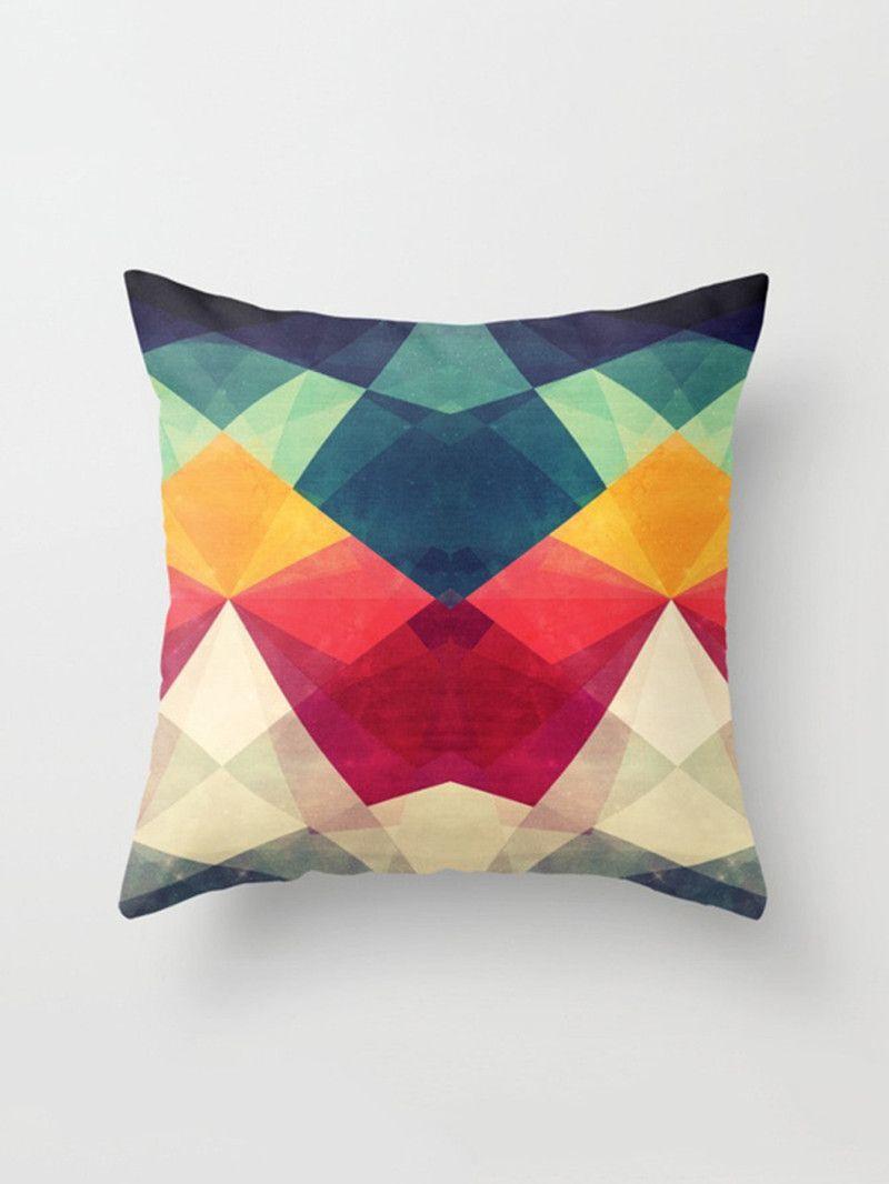 Color Block Pillowcase CoverFor Women-romwe bb21968d57